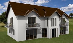Beispiel aus cadvilla - Haus mit Gauben