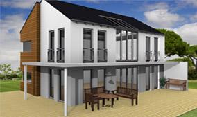 Beispiel aus cadvilla - modernes Haus