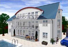 Visualisierung von einem Haus